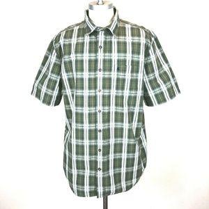 Carhartt Shirt XL Tall Relaxed Short Sleeve Plaid